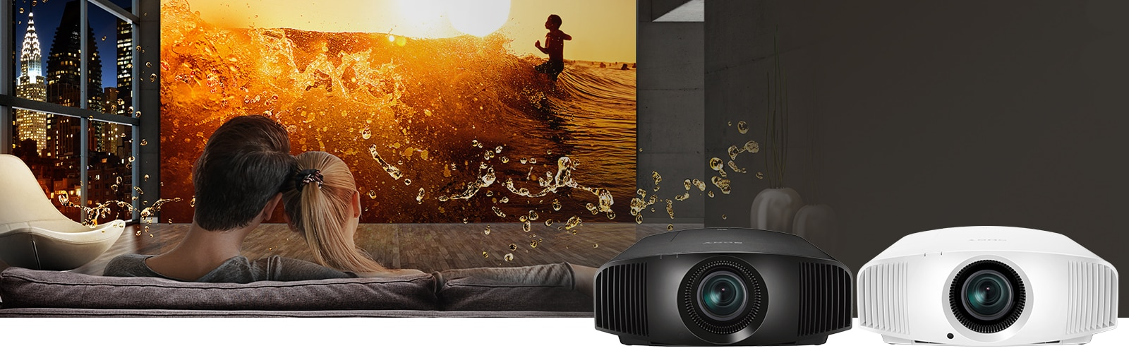 Sony 4K: Movie theatre quality in your own home