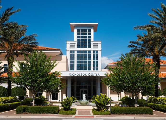Front visage of Florida Hospital Nicholson Centre