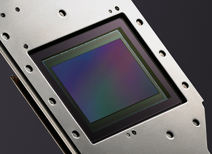 Close-up of VENICE full-frame image sensor