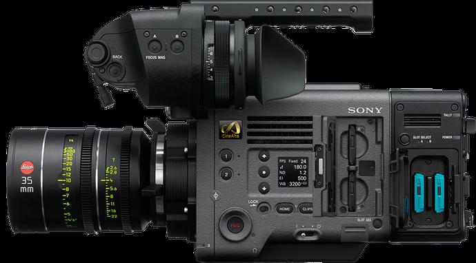 Side-view of VENICE full-frame cinema camera