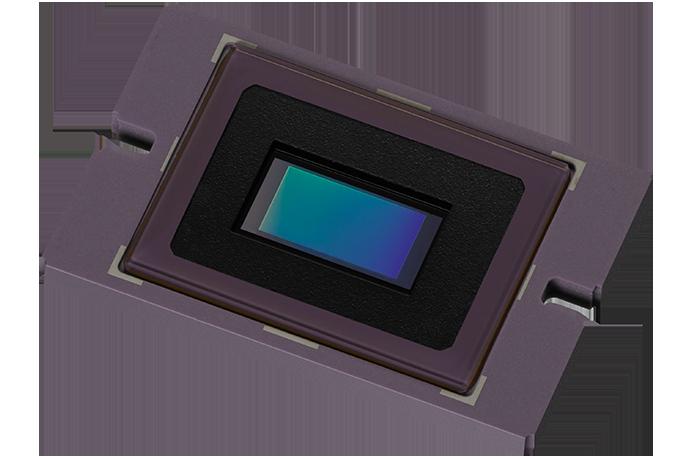 a 2/3-inch image sensor