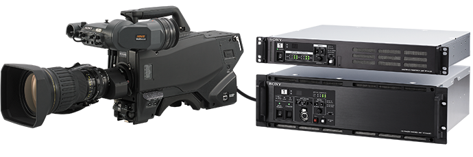 HDC-4300 and PMW-F55