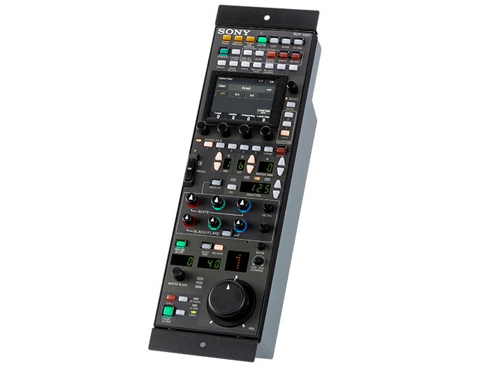 Remote control panels for HDC cameras