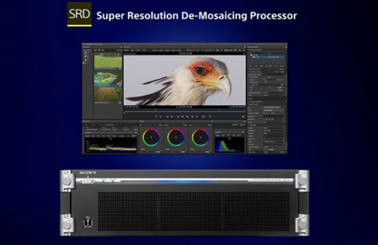 Super Resolution De-Mosaicing-Prozessor