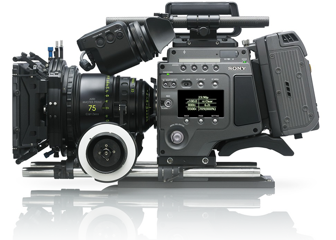 F65 with SR-R4 recorder
