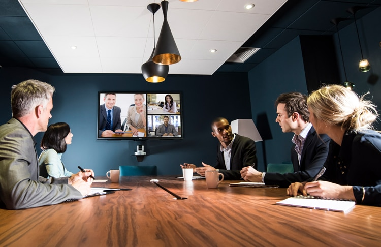 Vision Exchange for corporate environments