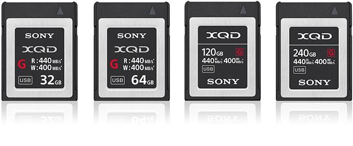 XQD™ memory cards