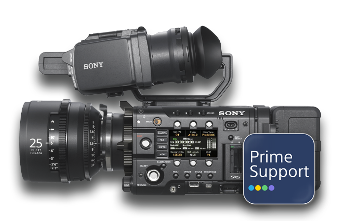 PrimeSupport Alister Chapman video kamerayı tutuyor