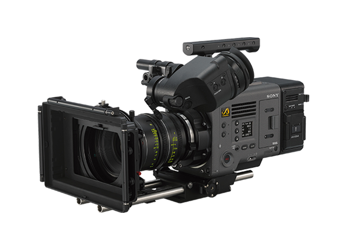 ¾ view of VENICE CineAlta camera