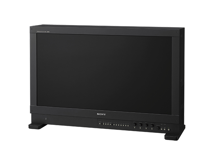 ¾ view of BVM-HX310 31-inch 4K TRIMASTER HX™ professional master monitor