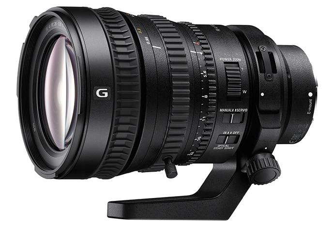 A-mount lens