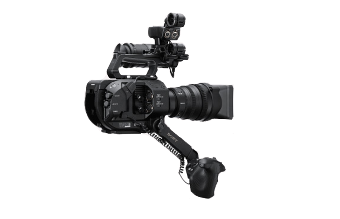 Telescoping arm on the PWX-FS7