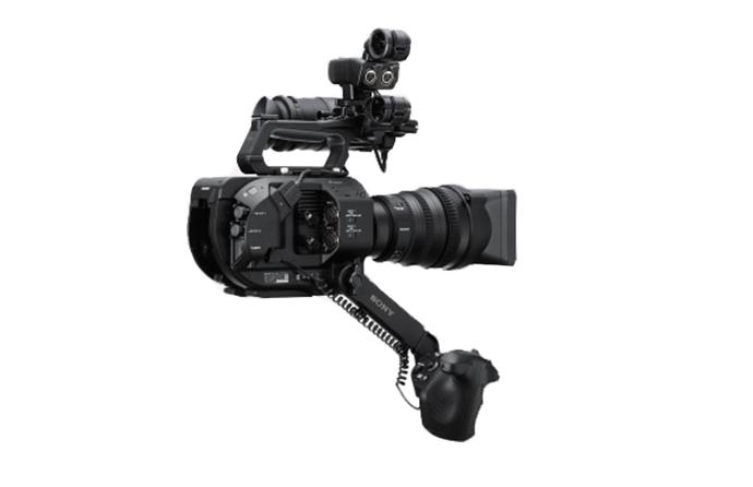 Brazo telescópico en la cámara PWX-FS7