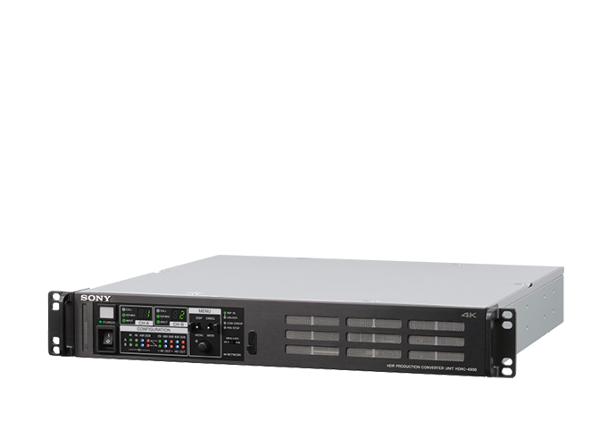 ¾ view of HDRC-4000 production converter unit