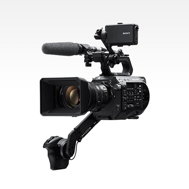 FS7 Handheld Camcorder - 4K HDR - Sony Pro