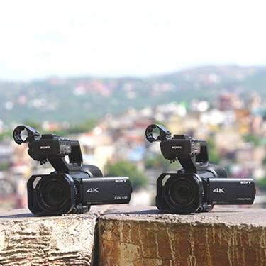 PXW-Z90 Handheld Camcorder - 4K HDR - Sony Pro
