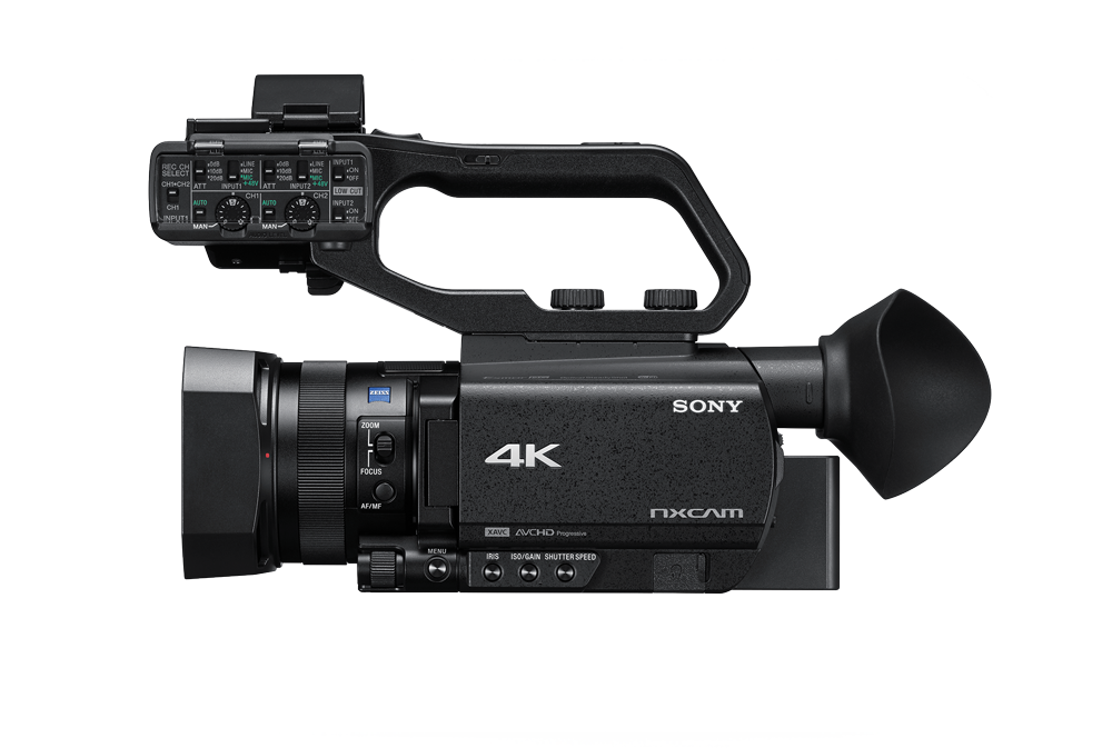 HXR-NX80 Handheld Camcorder - 4K HDR - Sony Pro
