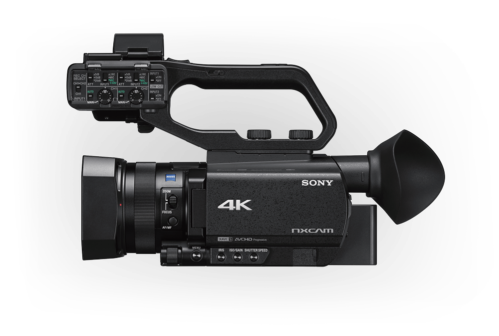 HXR-NX80 Handheld Camcorder - 4K HDR - Sony Pro