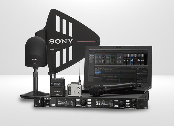 Photo de la gamme de produits audio