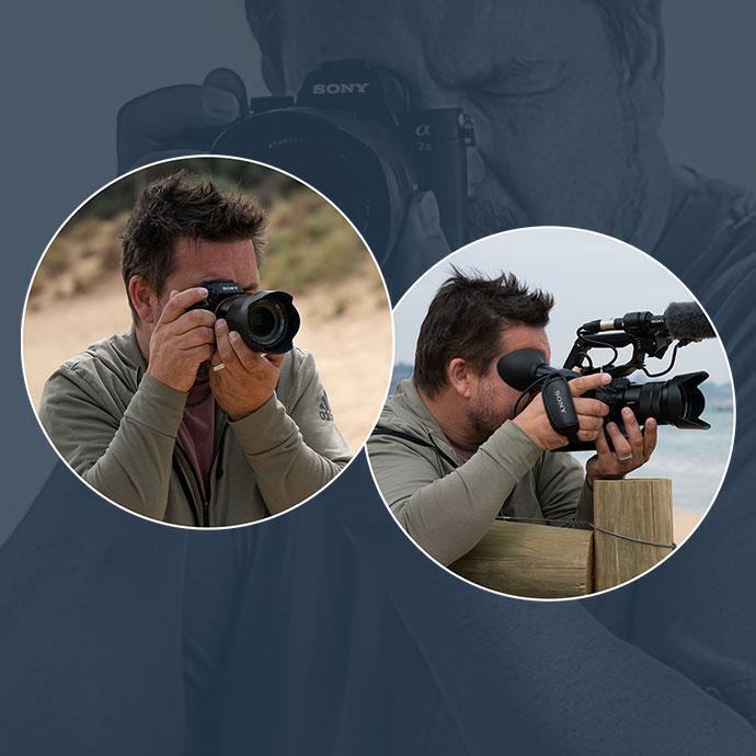 FS5 Handheld Camcorder - 4K HDR - Sony Pro