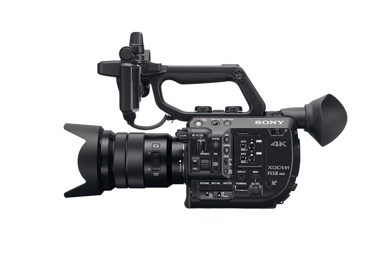FS5 II Handheld Camcorder - 4K HDR - Sony Pro