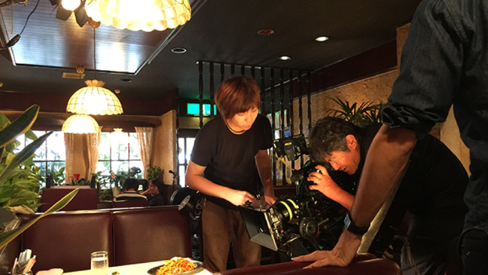 Samurai Gourmet shooting with F55