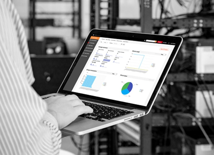 Manage TEOS Solution being used on a laptop for workplace management