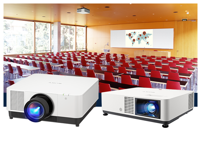 Intelligent Setting Laser Projectors