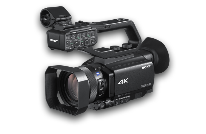 повернутая влево камера pxw-z90