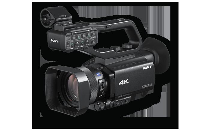 cámara pxw-z90 orientada a la izquierda