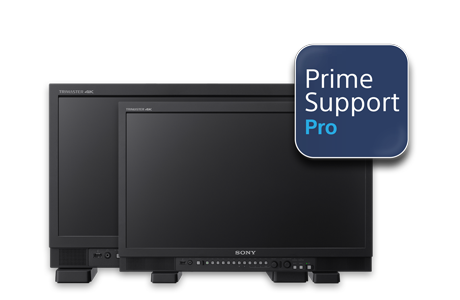 Image showing the PVM-X1800 and PVM-X2400 covered by PrimeSupport