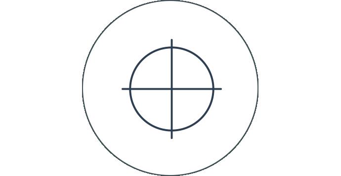 Bullseye-Symbol