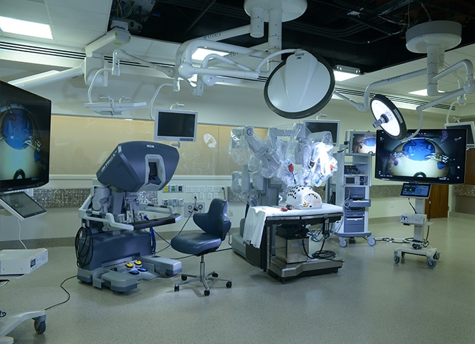 Operating Room in Florida Hospital Nicholson Centre