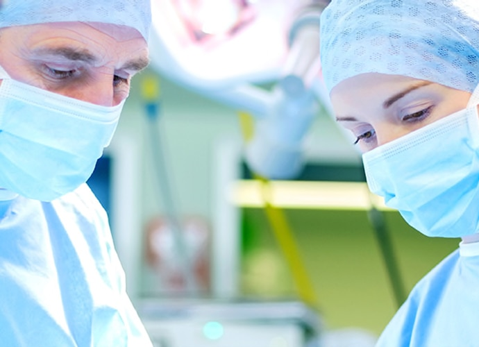 Two surgeons in a OR