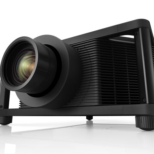 A close-up image of a Sony simulation projector.