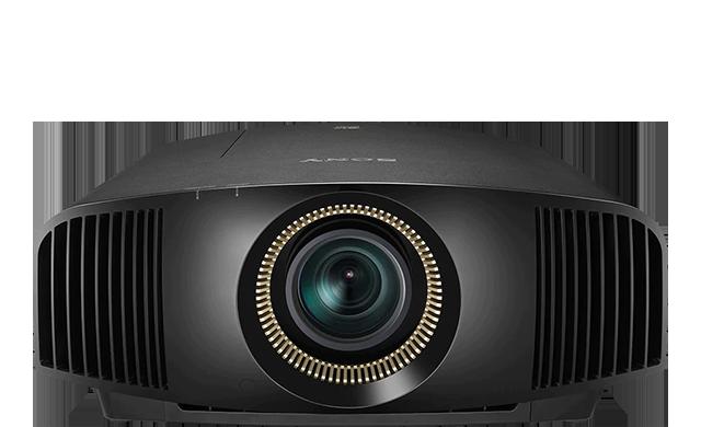 Frontansicht des Projektors VPL-VW790ES in Schwarz