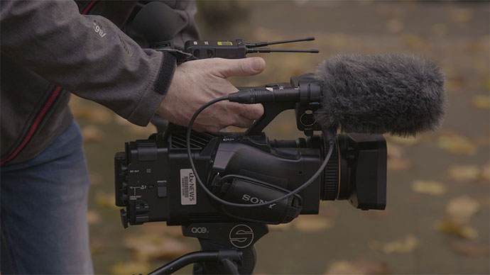 Sony camcorder designed for easy operation