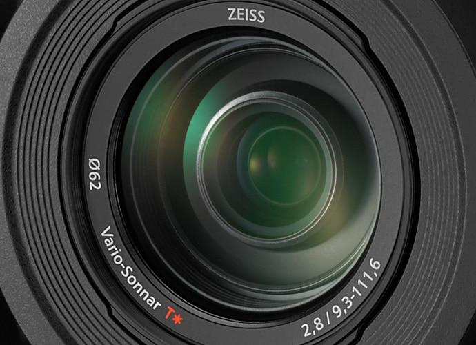 Close up of BRC-X1000 lense