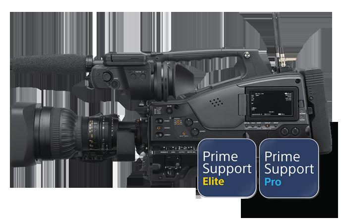 PXW-Z750 con logo PrimeSupportPro