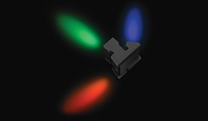 3-chip 2/3-type CMOS Sensor