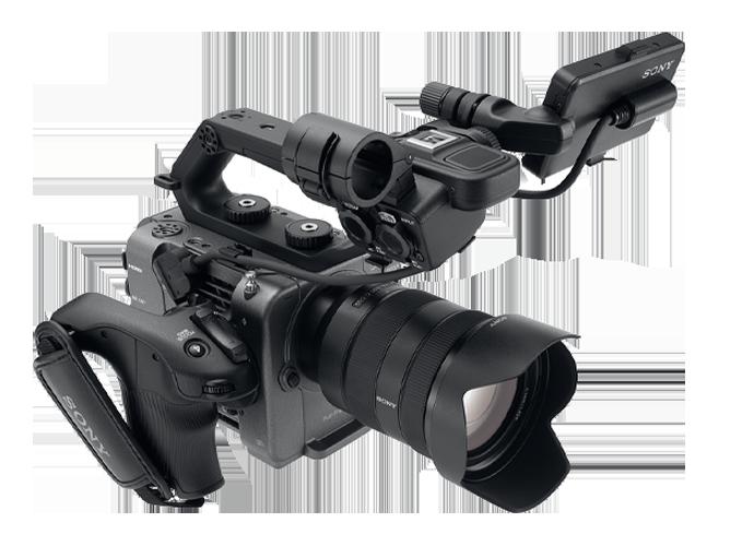 ILME-FX6 full-frame camcorder.