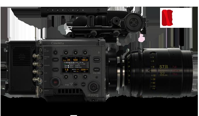 Side-view of VENICE digital cinema camera