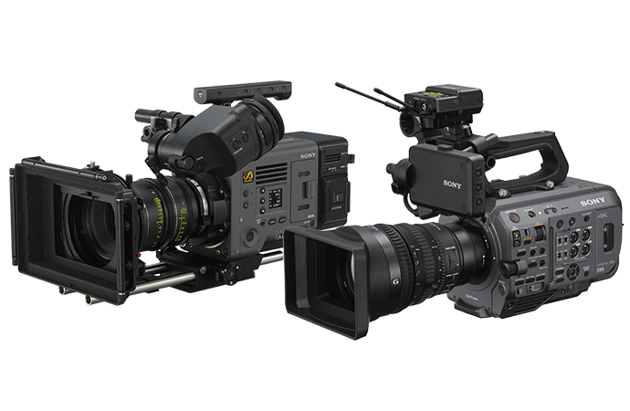 VENICE and PXW-FX9 full-frame camcorders