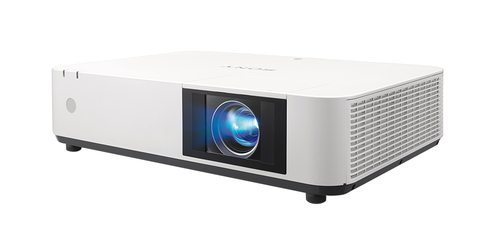 Front angled view of the VPL-PHZ12 laser projector