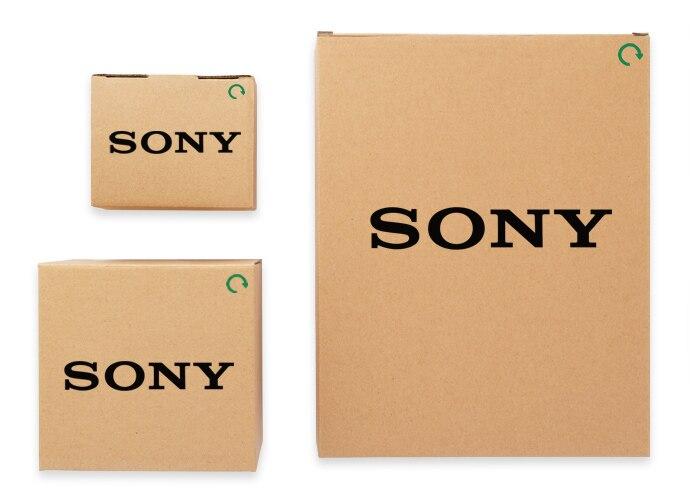 1 small, 1 medium, 1 large brown box