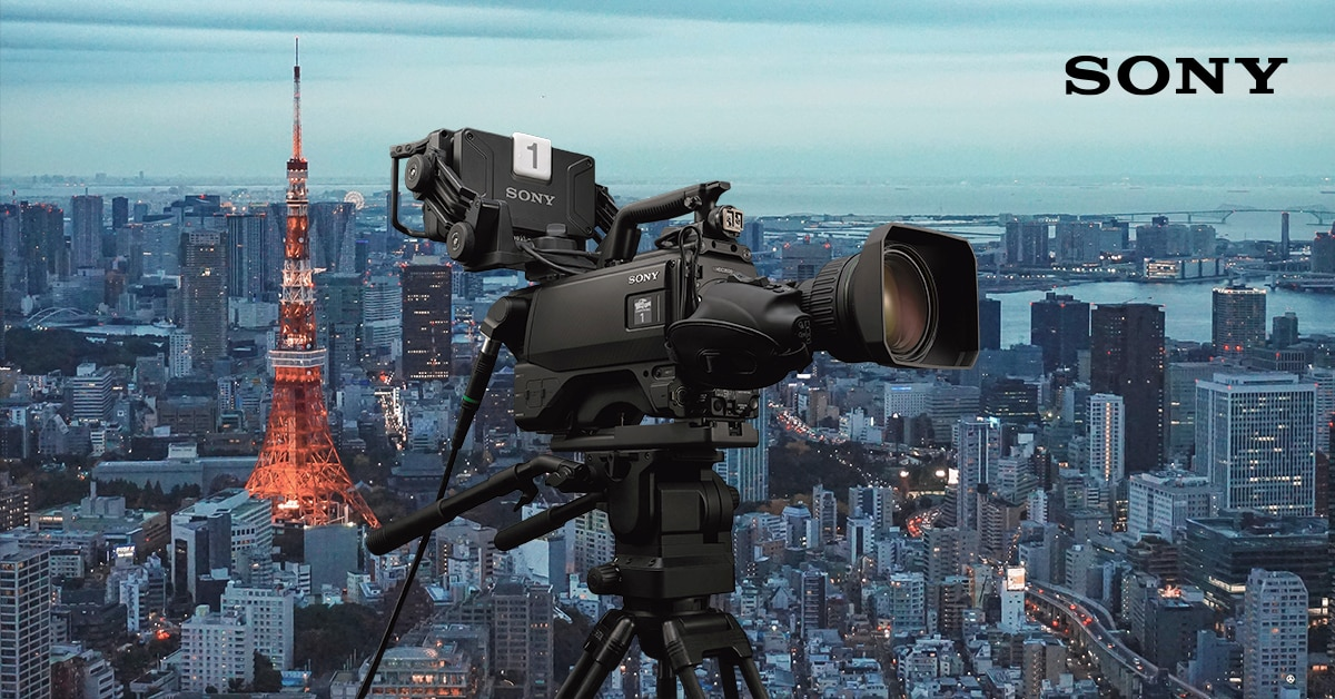 Image of Sony Covering Tokyo Olympics