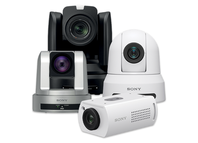 Sony PTZ cameras used in education and work from home scenarios