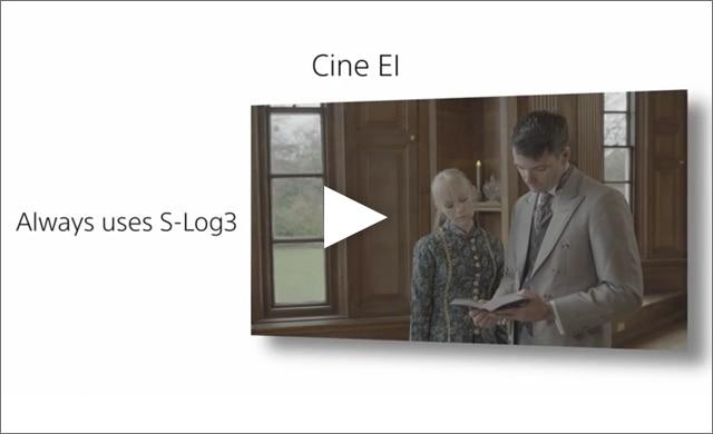 CINE EI example Edwardian scene