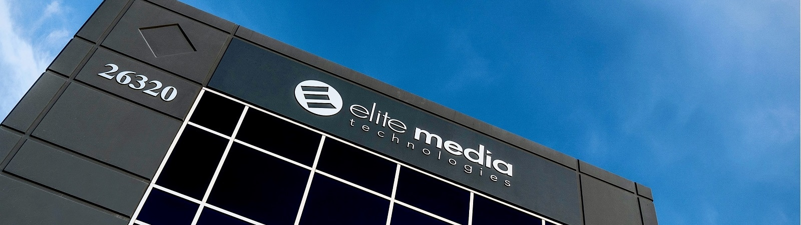 Elite Media external view of corporate building.