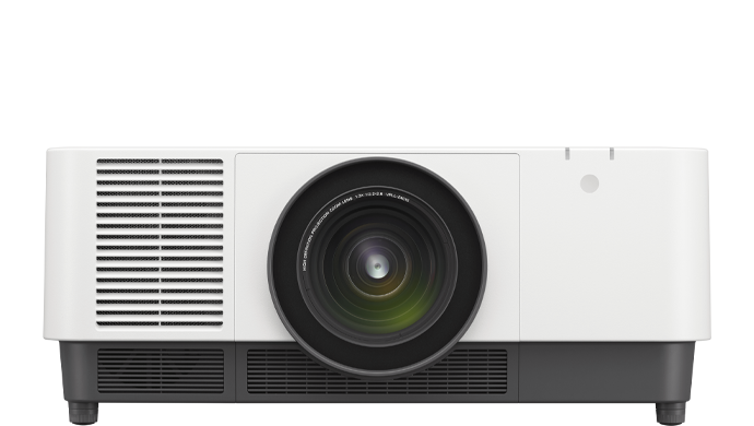 Product image of a VPL-FHZ91L laser projector.